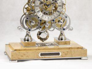 New 3 Train Skeleton Clock
