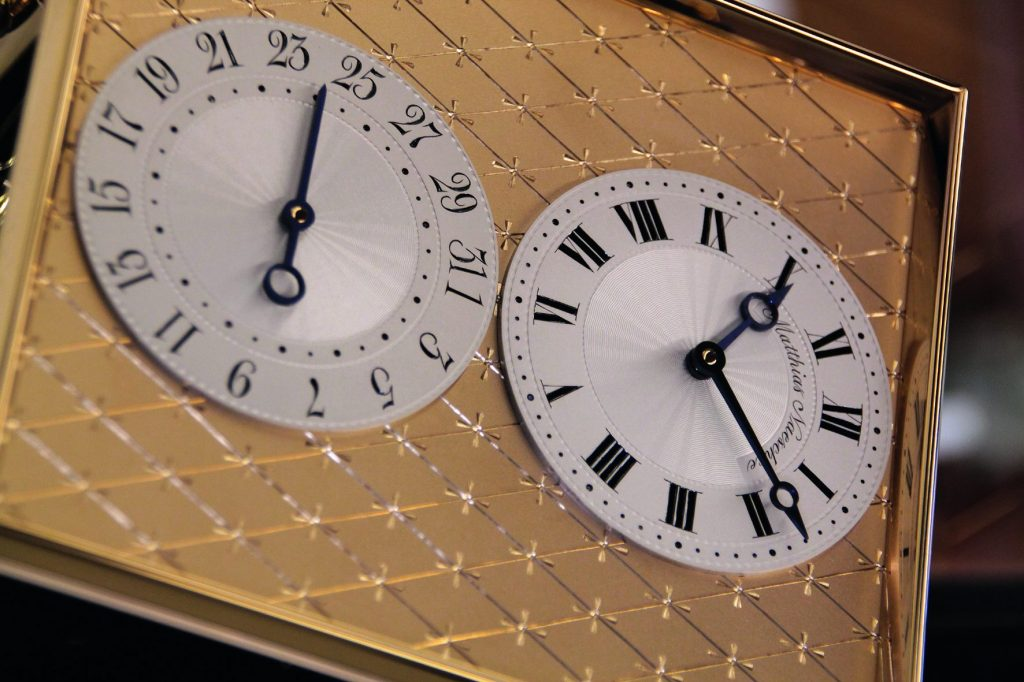 Matthias Naeschke Table Clock NT 9